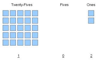 Twenty-Seven Objects, Broken Into Powers of Five