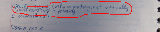 "An excerpt from my ""Computer Applications"" class notebook (January 26, 1982)"