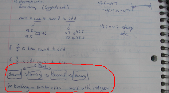 "An excerpt from my ""Seminumerical Algorithms"" class notebook (October 25, 1984)"
