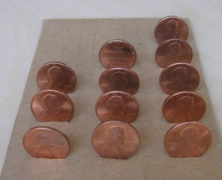 Saturday, July 31st, in pennies.