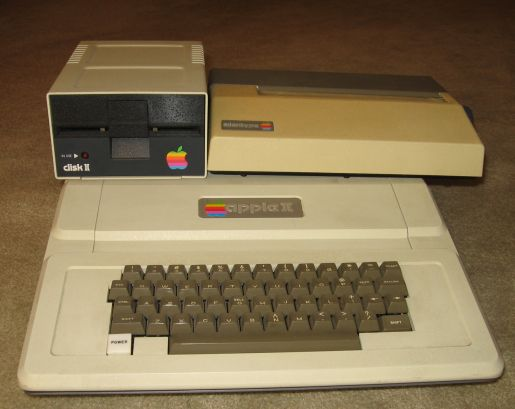 The Apple II I Used in High School.