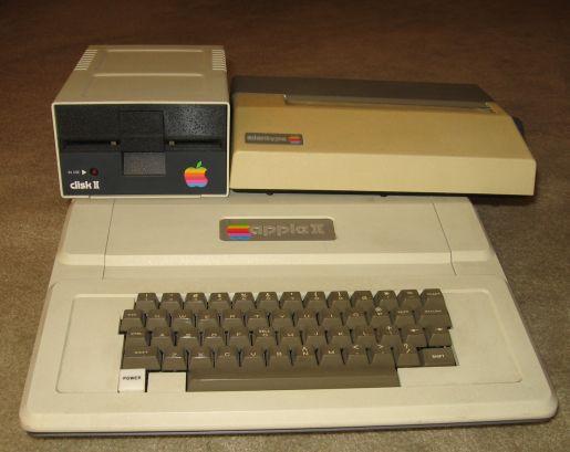 The Apple II I Used in High School.